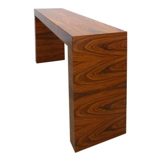 Minimalist Console Table Designed by Umberto Asnago for Mobilidea, Italy For Sale