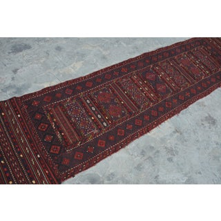 "Afghan Soumak Tribal Kilim Runner-2'3'x9'11"" Preview"