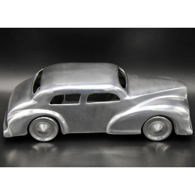Silver Chrome Stylized Classic Car For Sale - Image 8 of 13