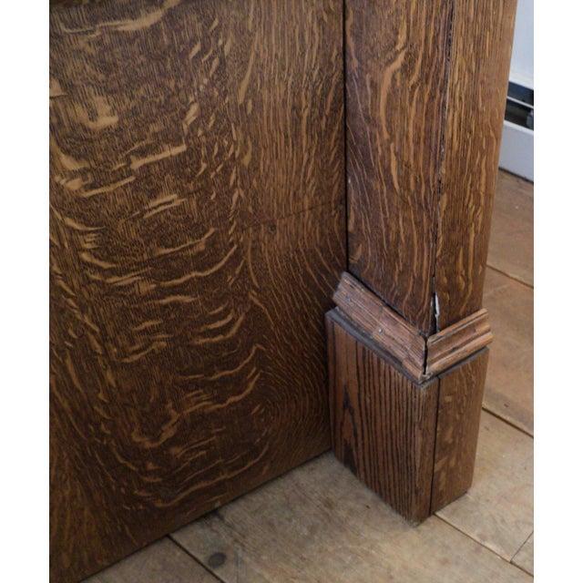 Vintage Sawn Oak Bench - Image 8 of 11