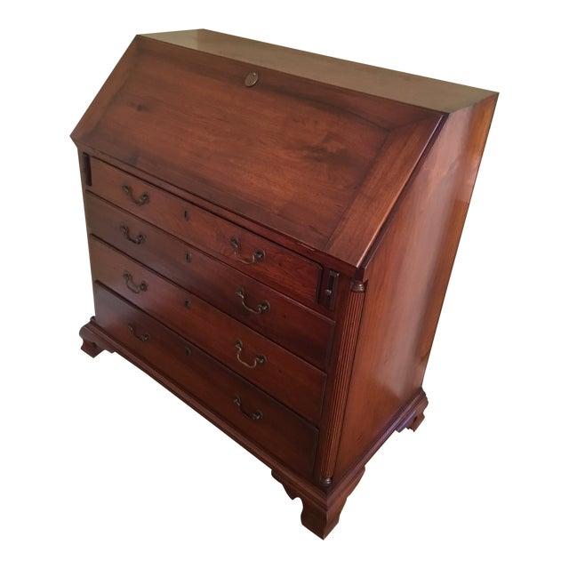 Mid 19th Century Antique Drop Leaf Desk - Mid 19th Century Antique Drop Leaf Desk Chairish