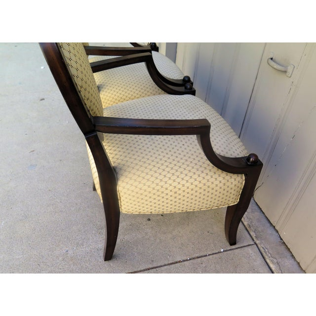 A. Rudin Vintage 1980s A. Rudin Regency Style Side Chairs- A Pair For Sale - Image 4 of 7