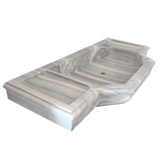 Art Deco Turkish Marble Sink | Antique Marble Counter Sink For Sale