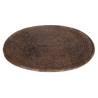 Artifacts Rattan Oval Placemat For Sale