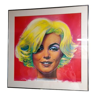 1980s Marilyn Monroe Framed Print For Sale