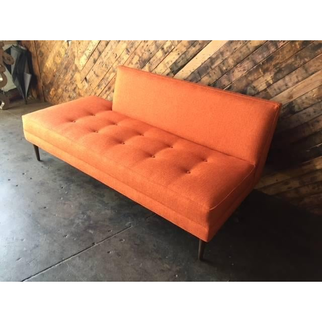 Mid Century Style Custom Day Bed Sofa - Image 3 of 6