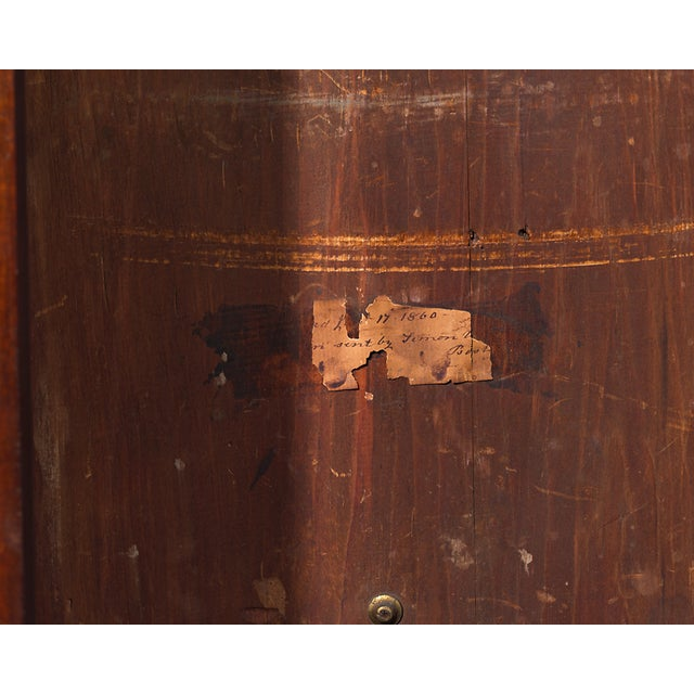 Late 18th Century Simon Willard Roxbury Tall Case Clock For Sale - Image 5 of 10