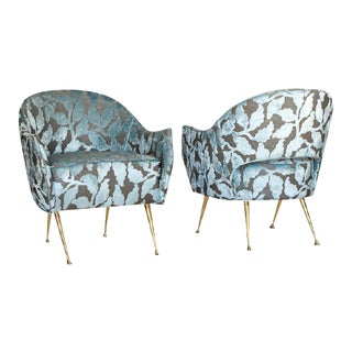 "Mid Century Style ""La Briance"" Chairs - a Pair For Sale"