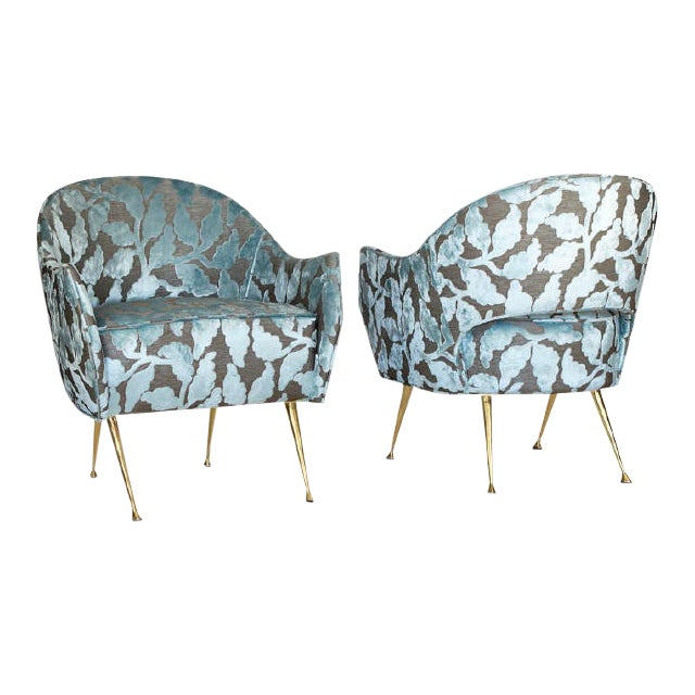 """Mid Century Style """"La Briance"""" Chairs - a Pair For Sale"""