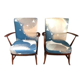 Vintage Ercol #248 Accent Chairs - a Pair For Sale