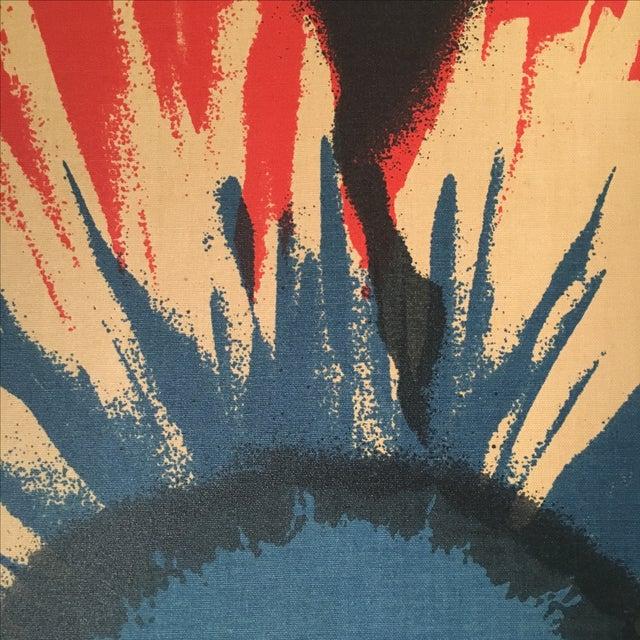 Original Tom Tru Vintage Poppy Sreen Print For Sale - Image 7 of 9