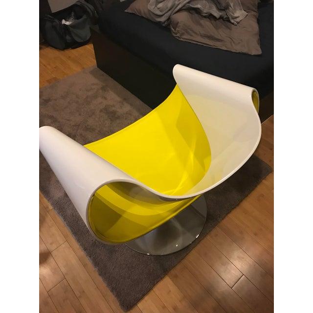 Contemporary Martin Bellandat Perillo Club Chair For Sale In Washington DC - Image 6 of 11