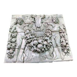 Early 20th Century Antique Historic Grand Central Station Terra Cotta Figural Frieze Mural