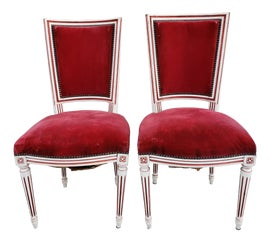 Image of Ruby Red Side Chairs