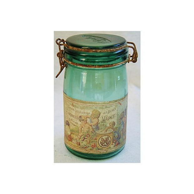 Early 1900s French Preserve Canning Jars - A Pair - Image 6 of 7