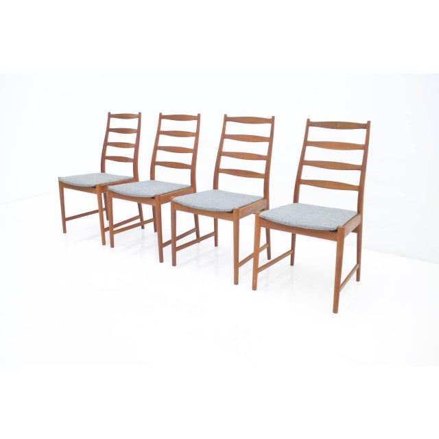 1960s Torbjørn Afdal Teak Dining Chairs by Vamo, Denmark, 1960s For Sale - Image 5 of 12
