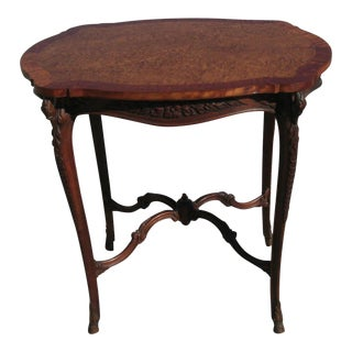 Reduced Vintage Mid Century French Accent Table by John M Smyth Co For Sale
