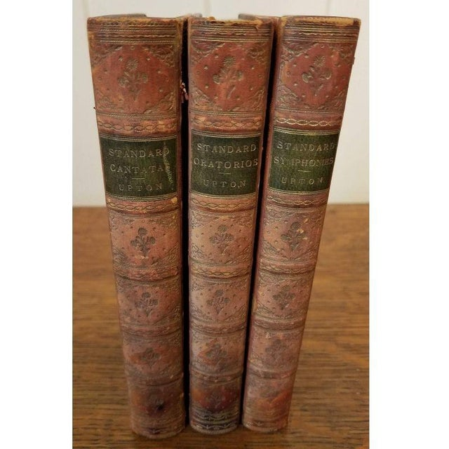 Late 19th Century 3 Leather Bound Volumes About Music. For Sale - Image 5 of 5