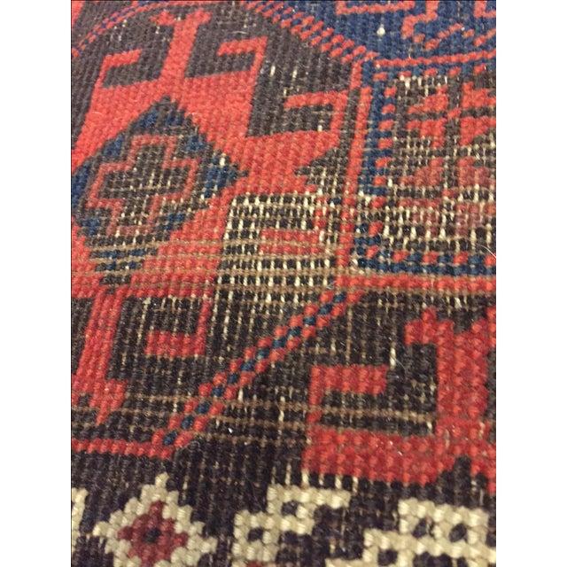 "Vintage Tribal Persian Rug - 3' x 5'10"" - Image 3 of 7"