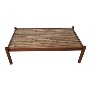 Rosewood Coffee Table designed by Percival Lafer, 1960s