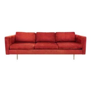 Vintage Mid Century Milo Baughman for Thayer Coggin Sofa For Sale