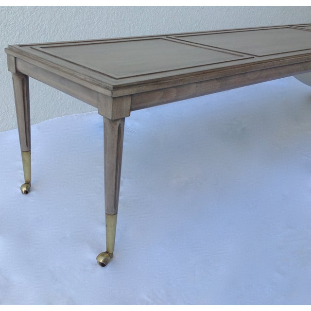 Italian Hollywood Regency Long Cocktail Table - Image 8 of 11