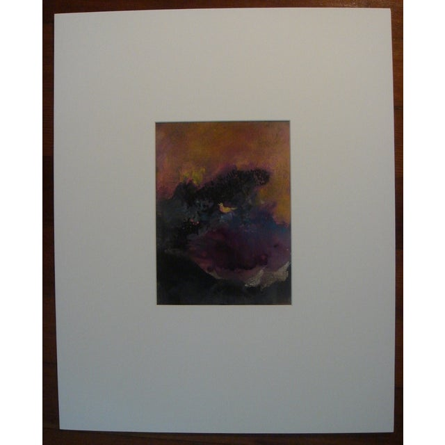 Pastel Over Monotype by Walter Kuhlman - Image 4 of 4