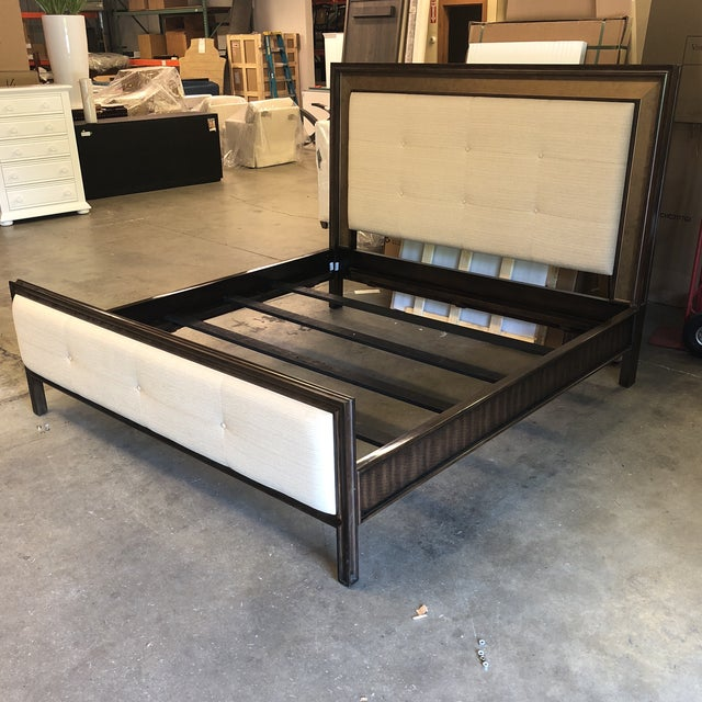 Hickory White King Bed For Sale - Image 12 of 12