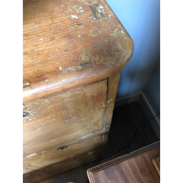 1880s English Pigeon Hole Cabinet With Drop-Down Doors For Sale In Los Angeles - Image 6 of 9