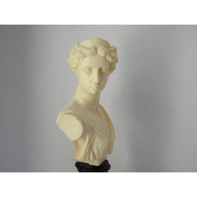 Vintage Classic Greek Goddess Bust - Image 3 of 6
