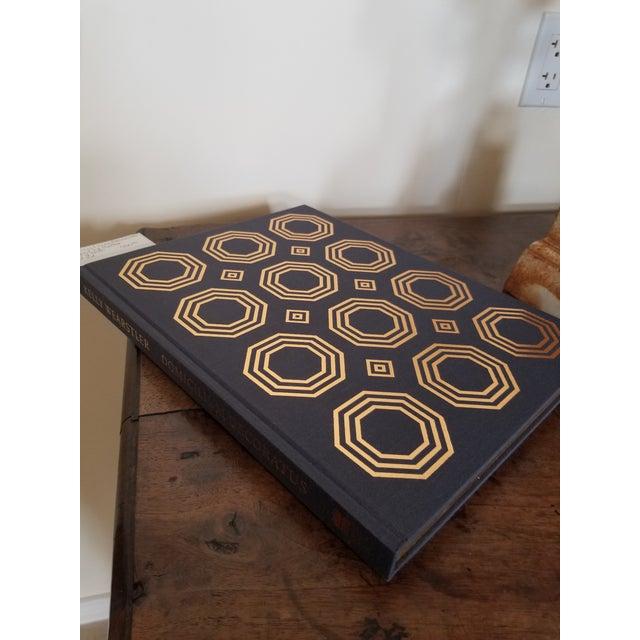 Beautiful cloth boxed signed limited edition #27/3000 Domicilium Decoratus design book.