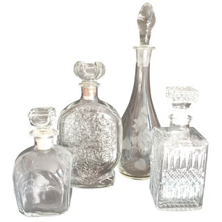 Vintage Decanter Collection - Set of 4