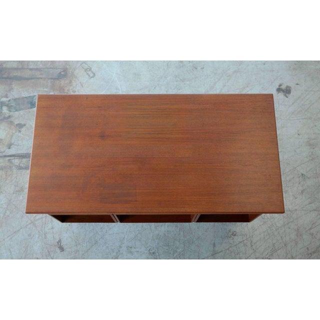 Executive Teak Desk Model FM 60 by Kai Kristiansen for Feldballes Møbelfabrik For Sale - Image 5 of 10