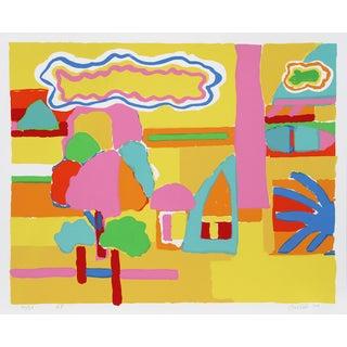 "John Grillo, ""Landscape I,"" Serigraph For Sale"