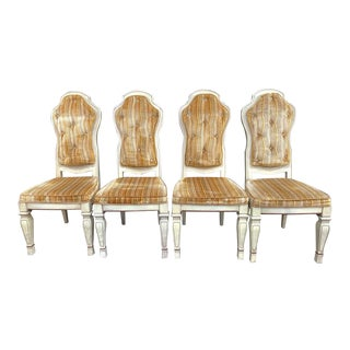 1970s French Provincial Chairs - Set of 4 For Sale