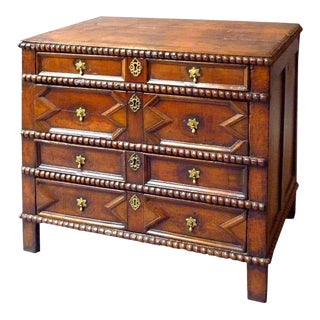 17th Century English Chest of Drawers For Sale