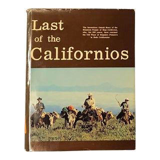 1980s Last of the Californios Book For Sale