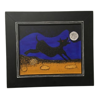 "Rufino Tamayo ""Dog Howling at the Moon"" Painting For Sale"