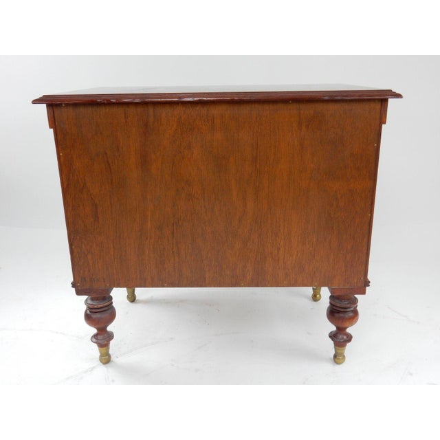 Milling Road by Baker West Indies Collection Mahogany End Table - Image 11 of 11
