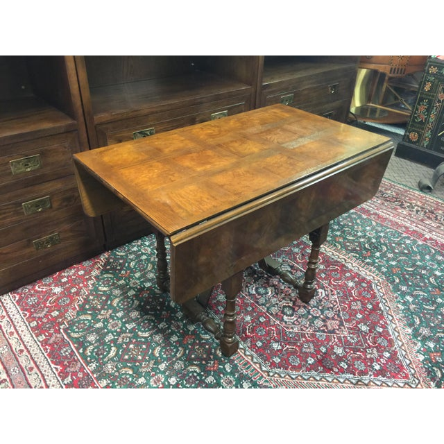 Baker Furniture Company Drop-Leaf Table - Image 5 of 8