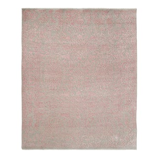 Talia, Transitional Transitional Hand-Knotted Area Rug, Sand, 5 X 8 For Sale