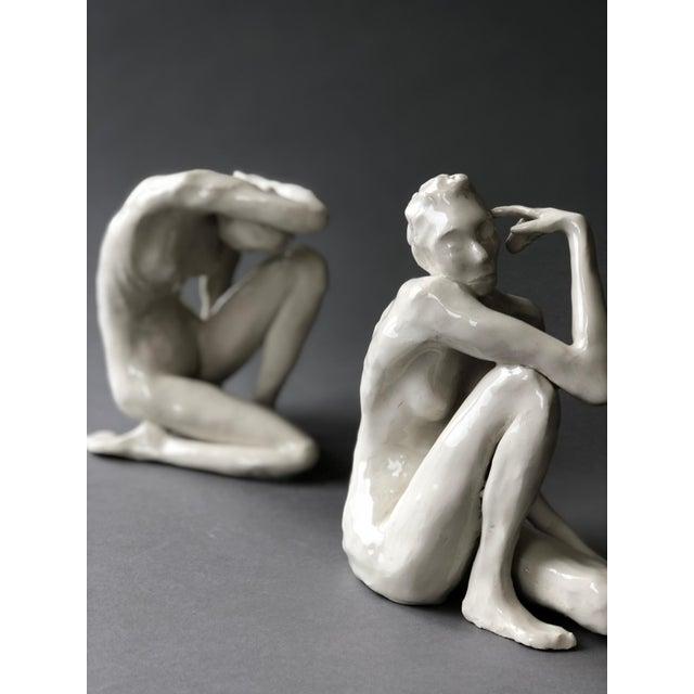Contemporary Ceramic Figurative Maquette For Sale - Image 9 of 10