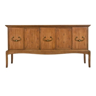 Horizon by Thomasville Moroccan Tommi Parzinger Style Stone Top Style Credenza For Sale