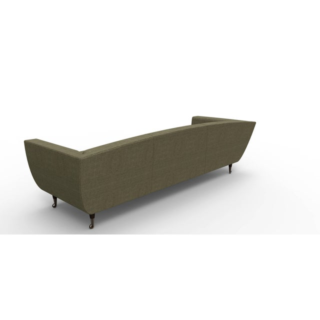 Custom Carlo Upholstered Sofa from William Collins Collection For Sale In Chicago - Image 6 of 13