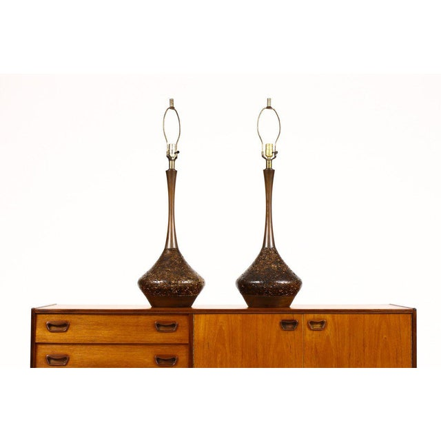 1960s Mid Century Vintage Table Lamps- A Pair For Sale - Image 5 of 5