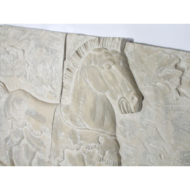 White Fiberglass Horse Wall Art Pieces - A Pair - Image 5 of 7