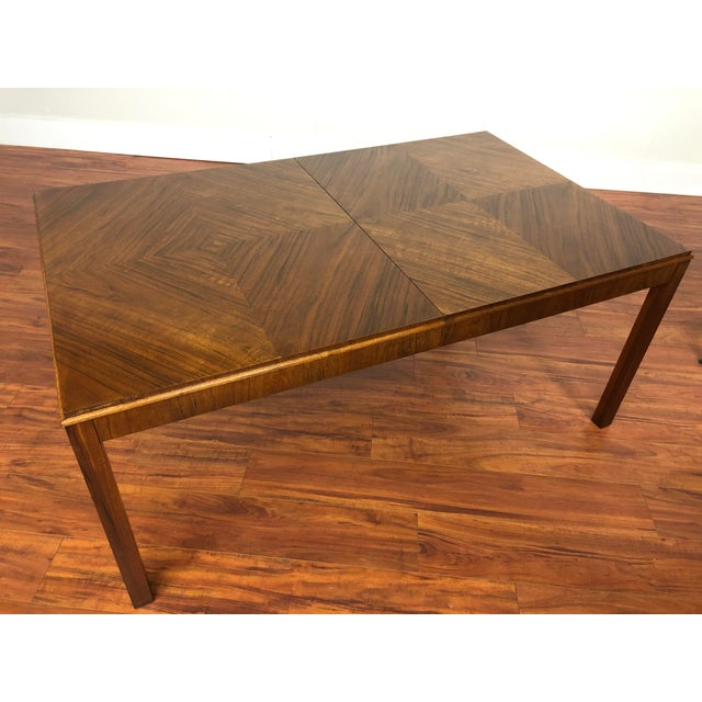 Maurice Villency Maurice Villency Expandable Dining Table For Sale - Image 4 of 13
