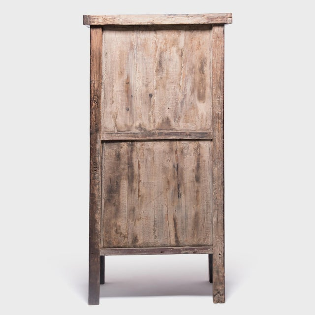 19th Century Chinese Folk Painted Cabinet For Sale - Image 4 of 10