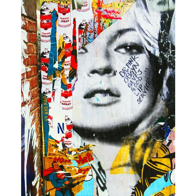 Kate Moss Inspired New York Street Art Photo - Image 2 of 2