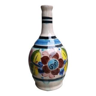 20th Century Vintage Tonala Mexican Water Jug Vase For Sale